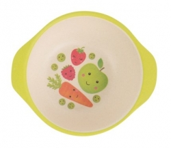 Dětská miska Happy Fruit and Veg, 13 cm